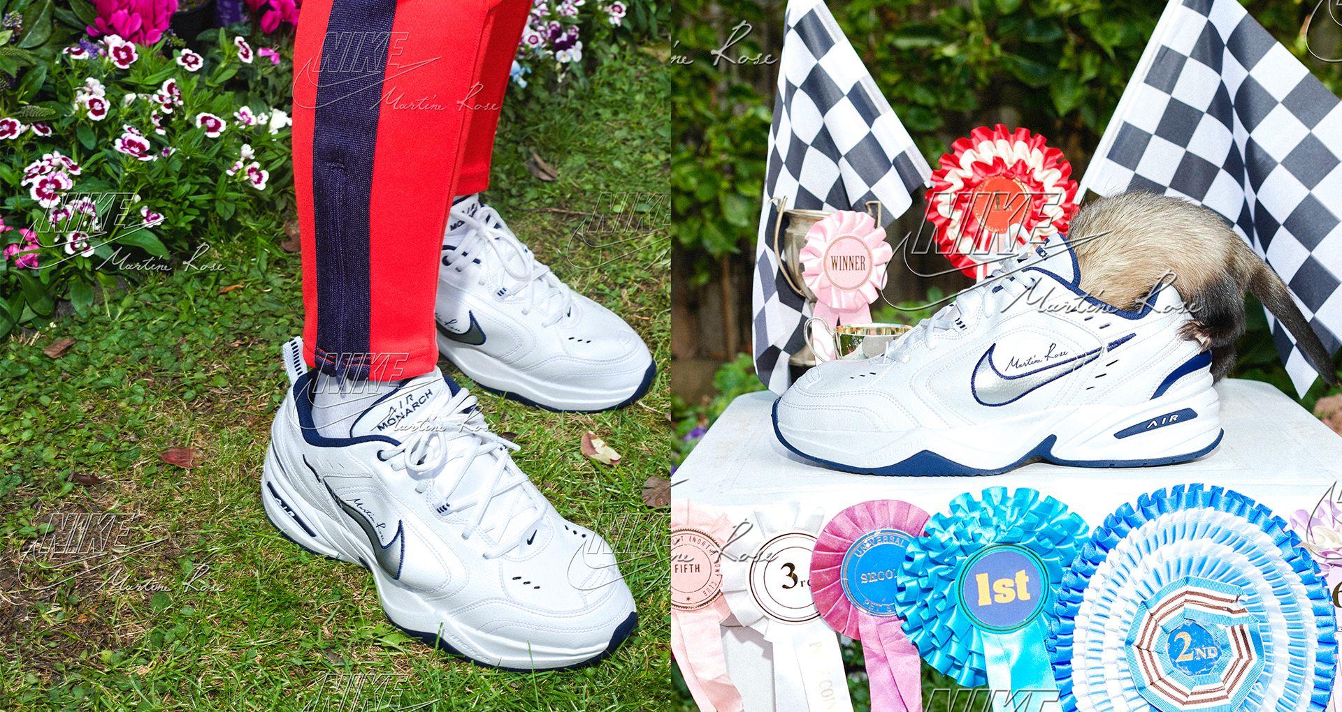 Nike Air Monarch de Martine Rose recebem lançamento alargado