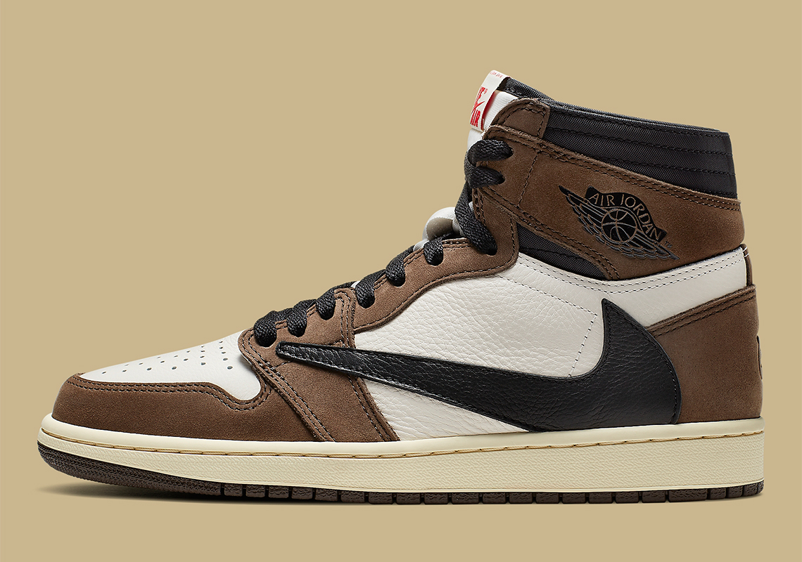 Nike Air Jordan 1 de Travis Scott com lançamento surpresa