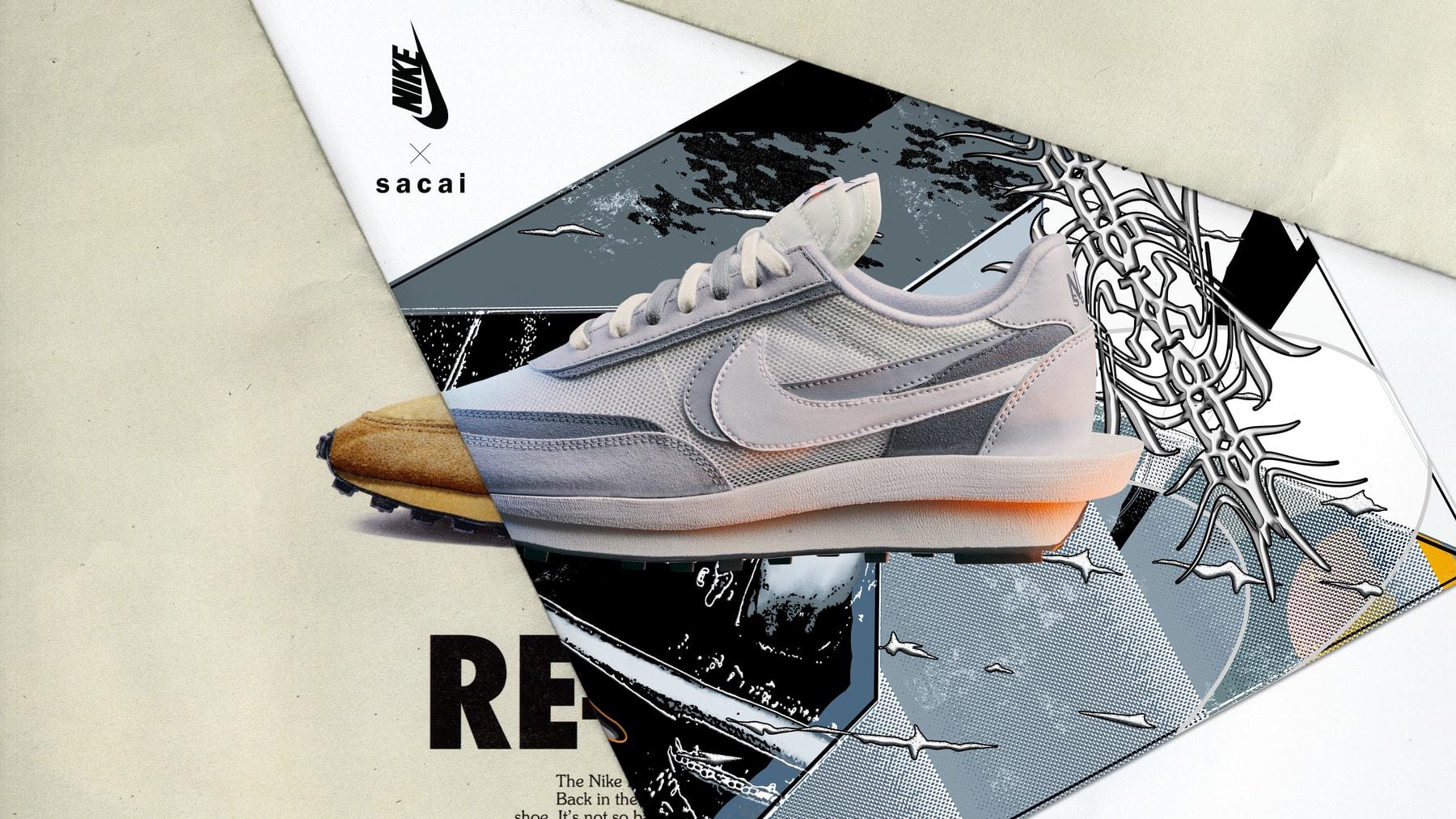 Nike x sacai com data de lançamento contracoutura