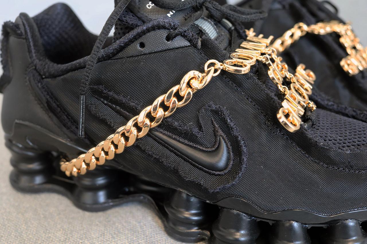 Nike Shox TL da COMME des GARÇONS prestes a chegar