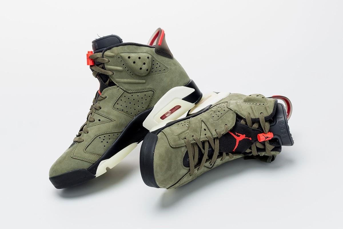 Atualizado) Nike Air Jordan 6 de Travis Scott no próximo