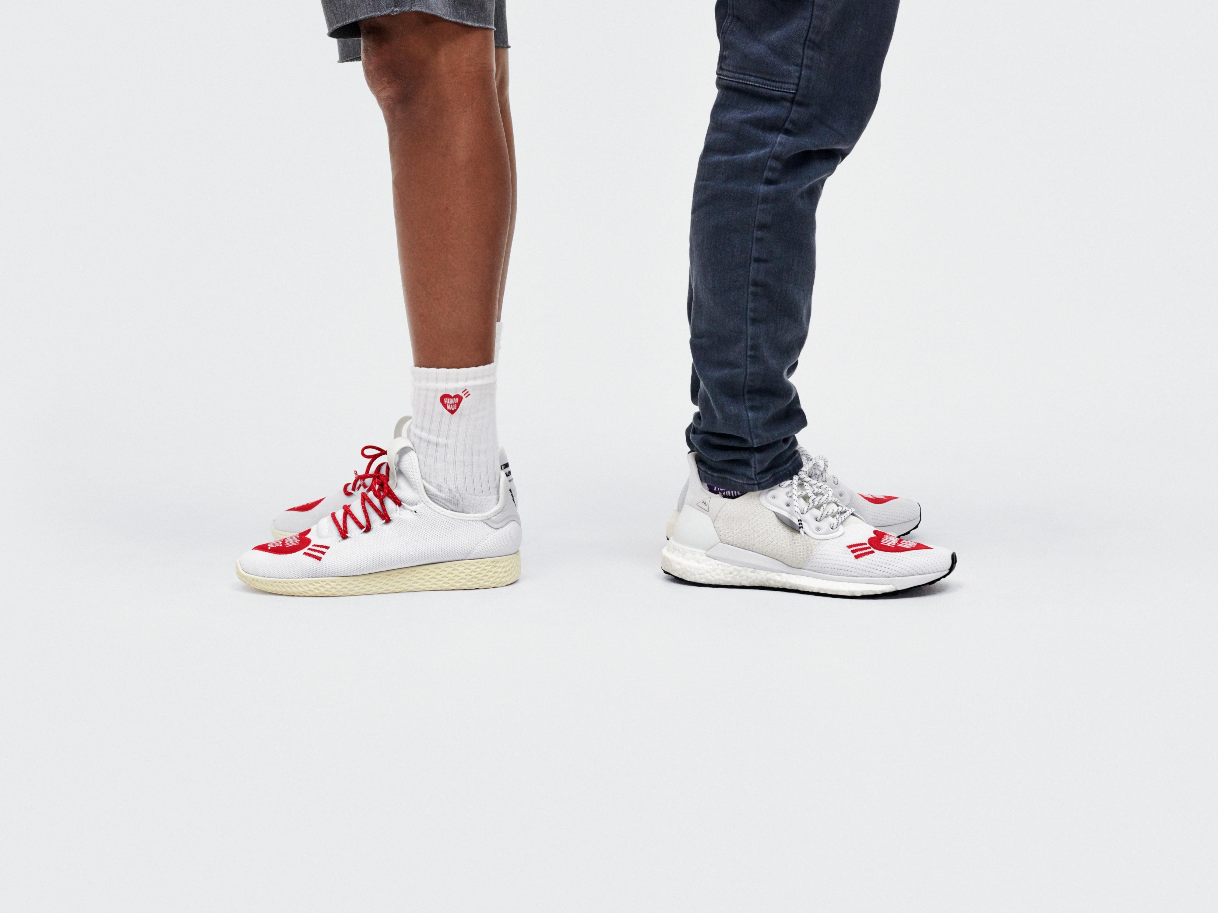 Pharrell Williams e Nigo x adidas Originals apontam ao