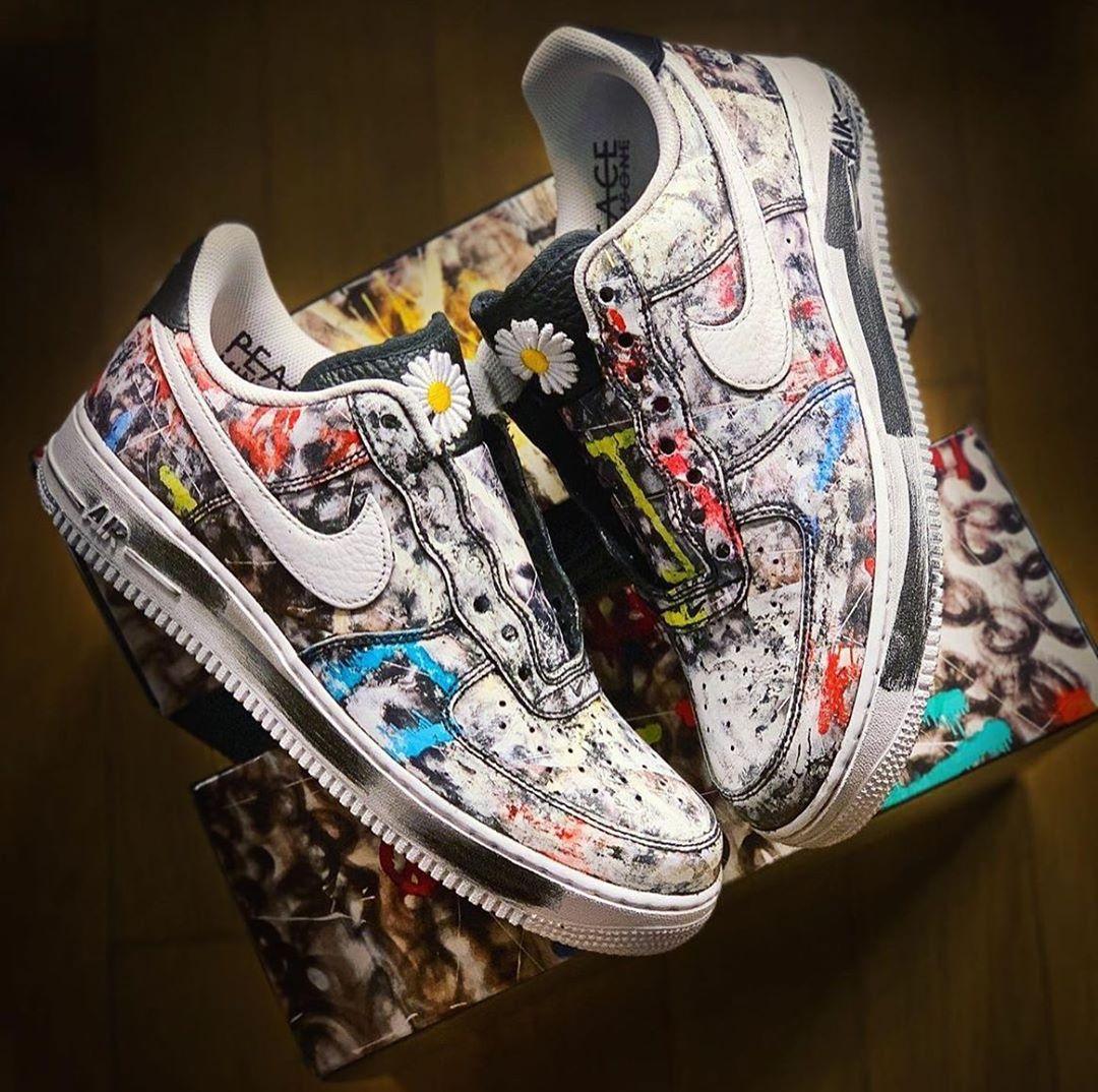 Atualizado) Nike x PEACEMINUSONE trazem nos umas Air Force