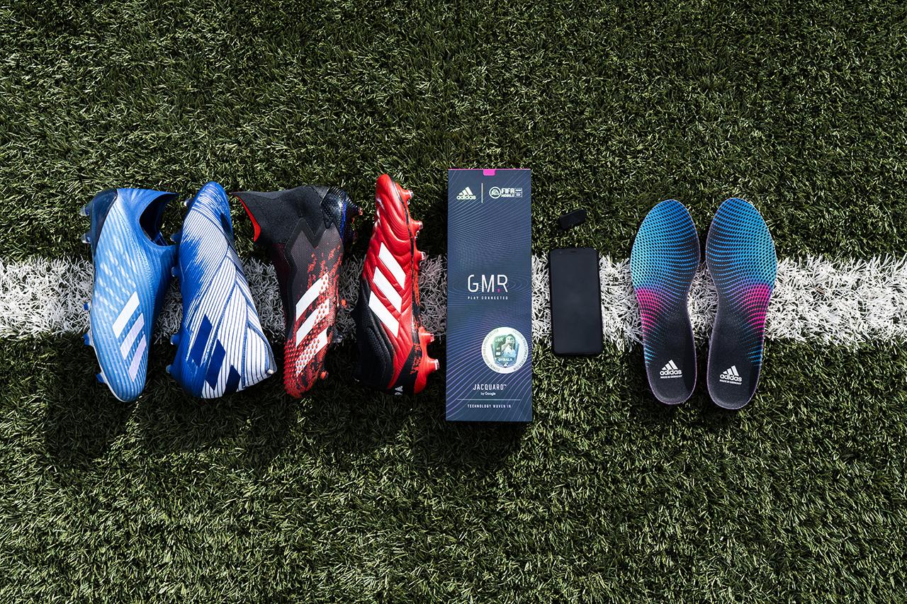 Fotos: Adidas apresenta nova coleção de chuteiras que serão